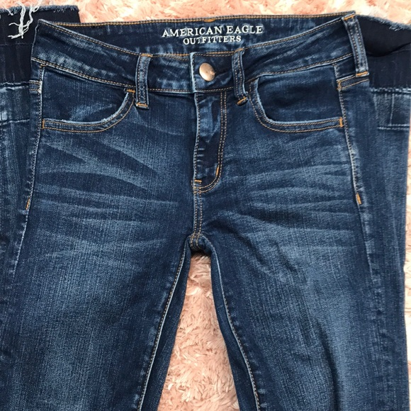 American Eagle Outfitters Denim - American Eagle Outfitters Dark Blue Jeans